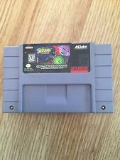 Todd McFarlane's Spawn: The Video Game Super Nintendo Cart Glow Works SN1