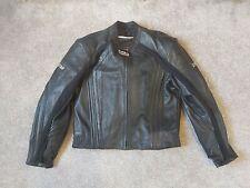 "Frank Thomas Motorcycle Black Leather Jacket XTI CLEARANCE 40-44"""