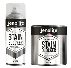JENOLITE Stain Blocker - Damp Seal Paint - White - Immediately Blocks Stains
