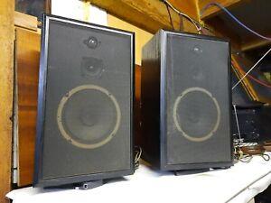 Guter Paar von Schneider HIFI 3 Wege Lautsprecher SystemBoxen 2820 LS,VINTAGE