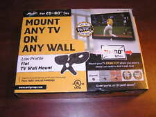 NEW AVF low profile TV Wall Mount for 20-in. to 80-in. Flat Panel TV hd-ml8360-a