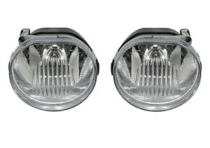 NEW Left & Right Genuine Mopar Fog Lights Lamps Pair Set For Jeep Liberty 02-04