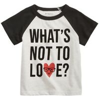 NEW First Impressions Baby Boys Love Print T-Shirt Size 24 Months New With Tags