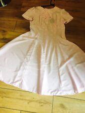 Baby Pink Spot XL Dress Hellbunny