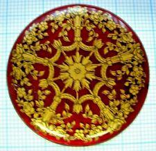 Grand médaillon 38mm décor berain émail gousset montre enamel pocket watch GR16