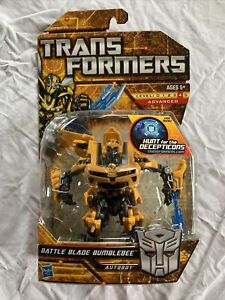 TRANSFORMERS HUNT FOR THE DECEPTICONS BATTLE BLADE BUMBLEBEE (SEALED MOC) DELUXE