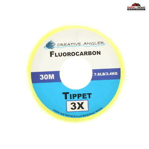 Flurocarbon Fly Fishing Tippet Material 1x / 3x / 4x / 5x ~ New