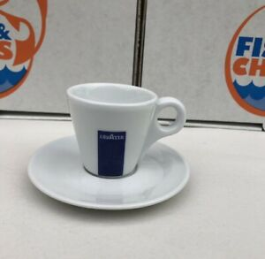 Lavazza Espresso Cup & Saucer – 2 oz, Set of One Cup and Saucer