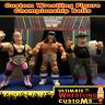 WWF WWE Retro Wrestling Belt Set x 3 for Hasbro Figures