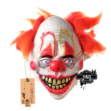 Smiley Evil Killer Clown Mask Adult Halloween Freak Show Cosplay Party Props