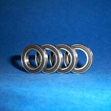 4 rodamientos de bolas SS 6906/61906 2rs/30 x 47 x 9 mm/acero inoxidable inoxidable