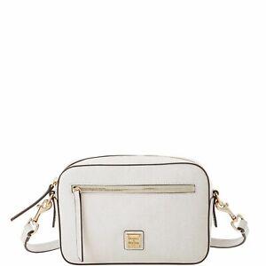 Dooney & Bourke Saffiano Camera Zip Crossbody Shoulder Bag