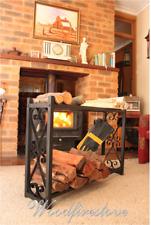 FIREPLACE ACCESSORIES FIREWOOD RACK Log Rack Storage WOOD HOLDER (WOODFIRESTOVE)