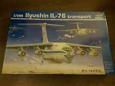 Trumpeter 1/144 llyushin IL-76 Transport Aircraft Great Condition Rare