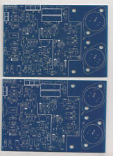 2pcs Class A dynamic Biasing 80W Stereo Audio Power Amplifier PCB Quad 405