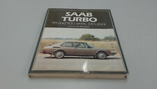 SAAB TURBO 99 AND 900 SERIES; 3,4,5 DOOR, ROBSON, OSPREY AUTO HISTORY, NEW BOOK