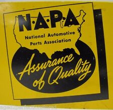 Old NAPA Auto Parts Store Display Rack Advertising Sign Modac fan belts rad hose