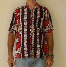 Rayon/Viscose Vintage Casual Shirts for Men