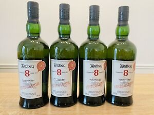 4 X ARDBEG 8 FOR DISCUSSION COMMITTEE RELEASE 50.8% 70cl