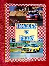 HOLDENS  VERSUS  FORDS   BY  MIKE  HARDING    HARD COVER