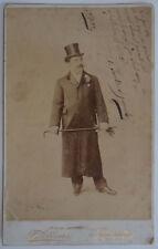 A. PERELLO DE SEGUROLA Spanish Bass 1899 Signed in Montevideo Cabinet Photo RARE