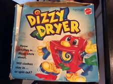 Vintage 1995 Mattel DIZZY DRYER Board Game 100% Complete & Works! With Box