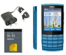 NUOVA condizione Nokia X3-02 Touch & Type BLU 3G sbloccato Bluetooth Fotocamera da 5 MP