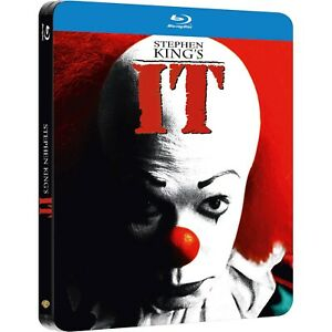 Stephen King's IT (1990) Limited Edition Blu-Ray Steelbook Brand New and Sealed