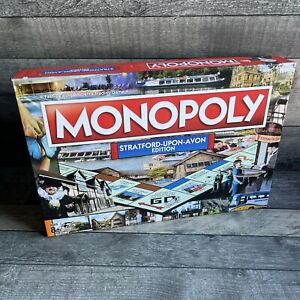 Monopoly Stratford Upon Avon Edition - Played Once