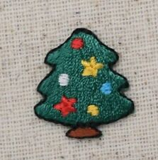 Mini Christmas Tree Colorful/Ornaments/Star Iron on Applique/Embroidered Patch