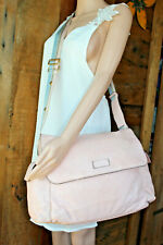 Gucci Messenger Diaper Bussiness Brief Tote Pink Blue Guccissima GG Leather Bag