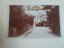 RARE Old RPPC A Street In Kents Bank (223) W.E.O.W. (View of the Post Office)
