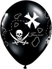 "10 PC Pirate's Treasure Map Latex Balloons 11"" FREE SHIPPING"