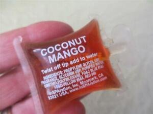 coconut mango spa scent single use stocking stuffer inspration bath fragrance 15