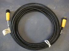 "Lumberg 0935 710 301/10M Cable Cordset RSRK 50-710/10M 5-pin 7/8"" M/F 300v Nnb"
