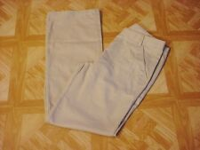 George Girls School Uniforms Beige Flat Front Pants Size 8