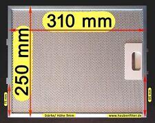 Metall-Fettfilter 311(310) x 250