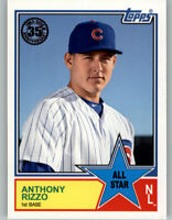 Anthony Rizzo 2018 Topps Series 2 1983 TOPPS ALL-STAR #83AS-34 Cubs