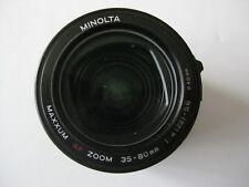 Minolta Maxxum  Camera  AF  Zoom Lens 35-80mm 1:4 (22)- 5.6 Ø46mm