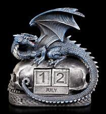 Drachen Figur als Kalender - Year Keeper - Gothic Fantasy Deko Tisch