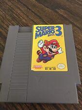 Super Mario Bros. 3 Nintendo NES Fun Game Cart Works Sweet NE4