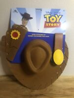 Disney Pixar Toy Story Sheriff Woody Accessories Set Hat Belt Holster Ages 3+