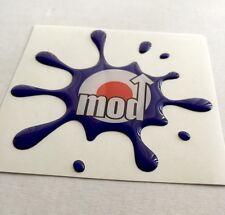 Vespa Scotter Dome Gel Splat Sticker free shipping to UK Latest Craze for MODs