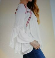 Beautiful UMGEE size M peasant blouse hippie gypsey boho new.