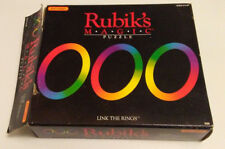 Original 1986 Rubik's Magic Puzzle Link the Rings with box and instructions