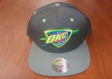 Mitchell & Ness NBA Oklahoma City Thunder Basketball 2 Tone Snapback Hat ~NWT~