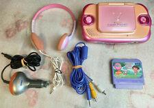 Console V.Smile Cyber Pocket  + jeu Dora / VTech Gameconsole Spielekonsole
