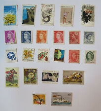 Australia / Australian 23 used postage stamps, commemoratives and regular issue.