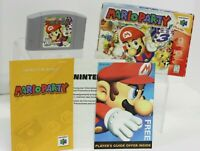 N64 Mario Party Complete Nintendo '99 Authentic Original Manual Tested Fast Ship