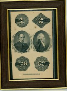 1870S $1 $2 $50 $100 NAT'L CURRENCY HAMILTON AND CHASE NAT'L BANK NOTE N.Y.